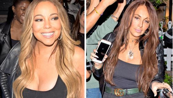 Mariah Carey ja Stella Bulochikov
