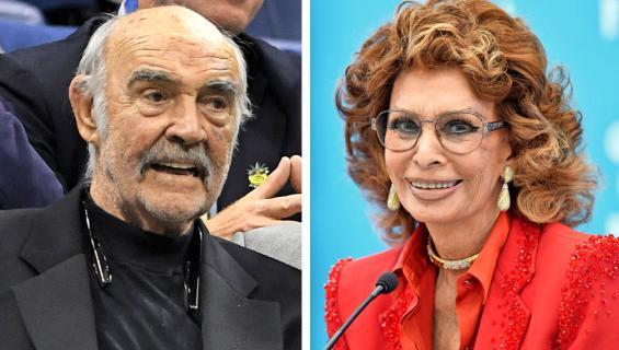 Sean Connery ja Sophia Loren
