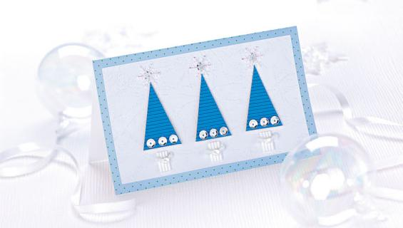 Joulukortista paljastui yllätys.
