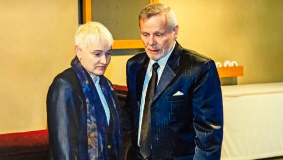 Raimo ja Satu Andersson.