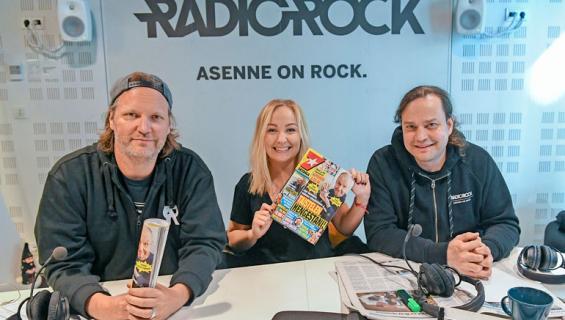 Radio Rockin Kim Sainio, Paula Rinta-Kanto ja Harri Moisio käyvät torstaisin Seiskaa läpi.