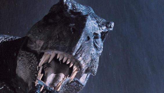 T-rez oli Jurassic Park-elokuvan tähti.