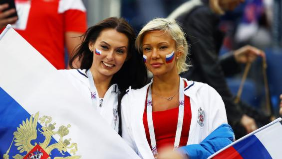 Venäläisnaisia kehotetaan etsimään World Cupista miesseuraa.