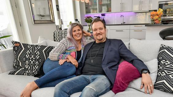 Ilona ja Sami Hedberg saivat miljoonakotinsa myytyä.