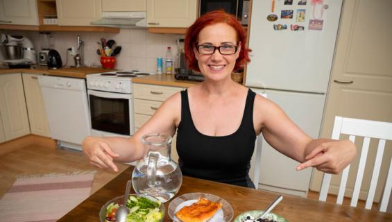 EIja-Liisa Pokki kertoo laihdutusvinkit.