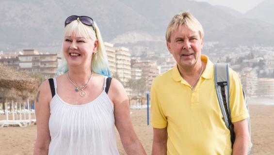Matti ja Pia Nykänen palasivat Kreikasta.