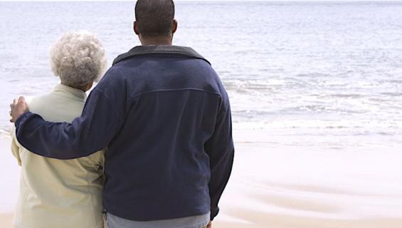 Miehellä ja tämän rakastajattarella oli suuri ikäero.