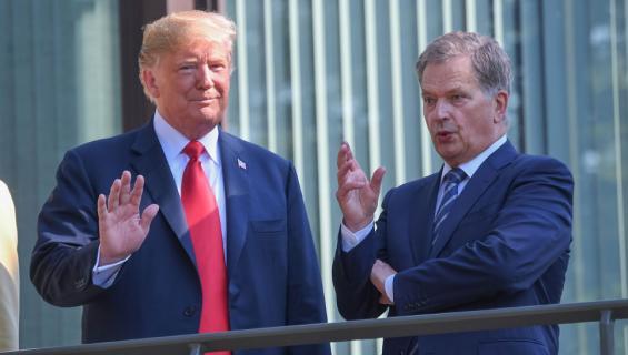 Donald Trump ja Sauli Niinistö
