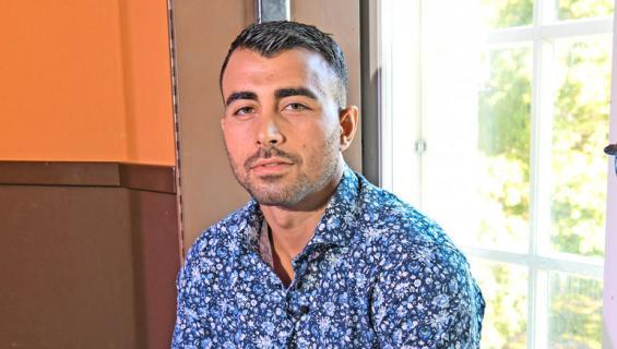 Makwan Amirkhani joutui tappeluun yökerhossa.