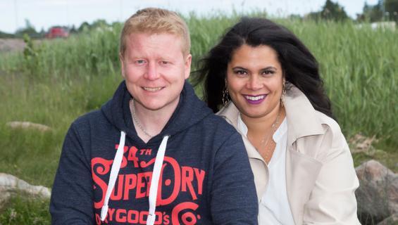 Sampo Kaulanen ja Michele