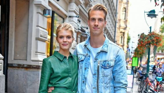 Alina Tomnikov ja Lauri-rakas tekevät yhdessä tv-sarjaa.