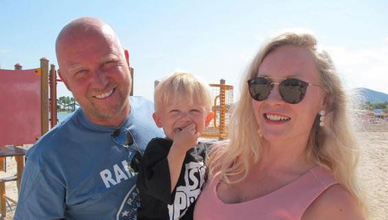 Stefan Richter lupasi Riikka-rakkaalleen toisen lapsen.