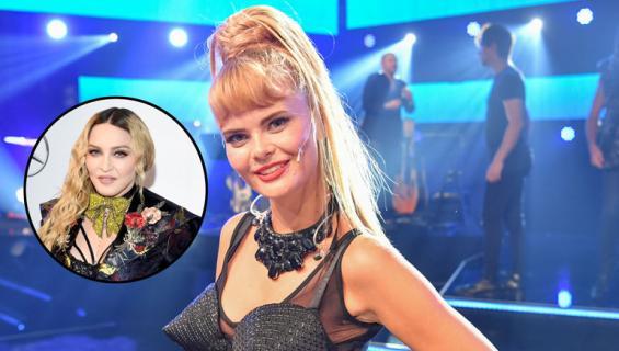 Erika Vikman ihailee Madonnaa.