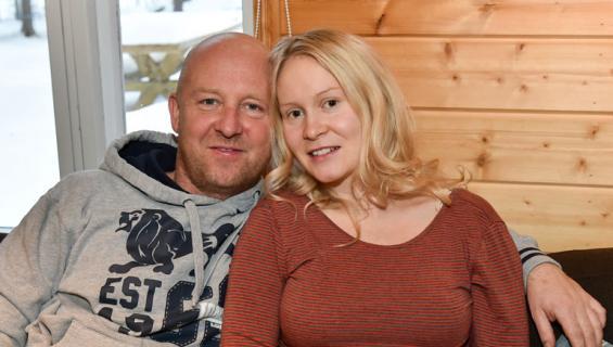 Stefan Richter ja Riikka Vikman perustivat yhteisen bisneksen.