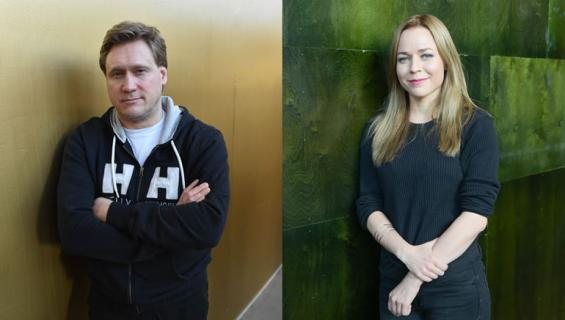 Samuli Edelmann ja Paula Vesala näyttäytyivät yhdessä.