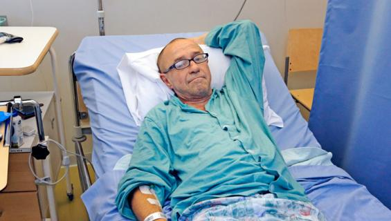 Enzo Pulkkinen kiidätettiin sairaalaan.