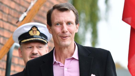 Tanskan prinssi Joachim nautti vauhdin huumasta.