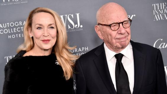 Jerry Hallin ja Rupert Murdochin liitto kestää.