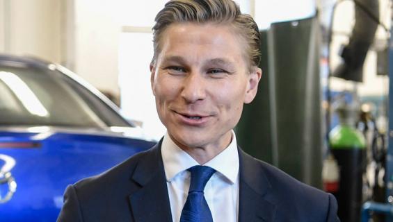 Oikeusministeri Antti Häkkäsestä tulee pian isä.