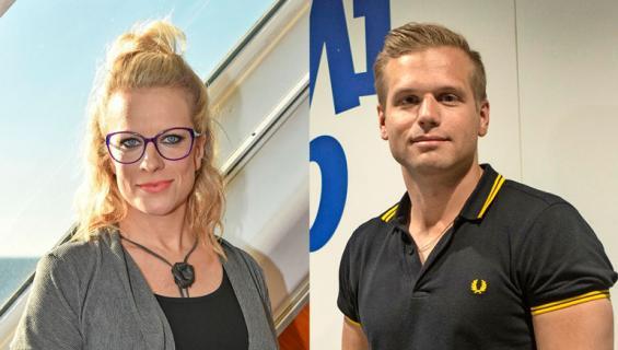 Laura Voutilainen ja Ilkka Ihamäki riitelivät äänekkäästi.