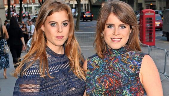 Ison-Britannian prinsessat Beatrice ja Eugenie