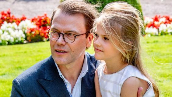 Ruotsin prinssi Daniel ja prinsessa Estelle