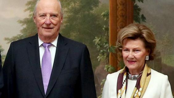 Norjan hallitsijapari Harald ja Sonja