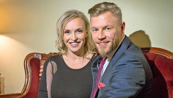Jutta Gustafsberg ja Juha Rouvinen