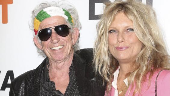 Keith Richards ja Patti Hansen