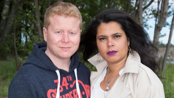 Sampo Kaulanen ja Michele Murphy-Kaulanen