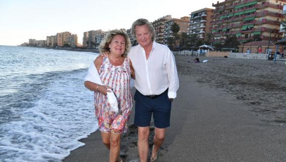 Pepe Willberg ja Pauliina Visuri lähtivät Espanjaan.
