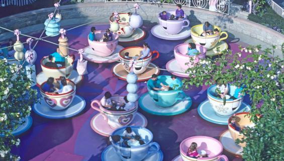 Disney on suosittu lepopaikka edesmenneille.