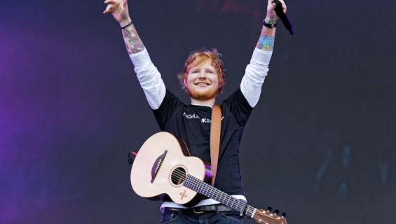 Ed Sheeran on edistänyt punatukkaisten miesten asemaa.
