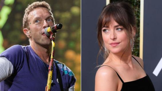 Chris Martin ja Dakota Johnson