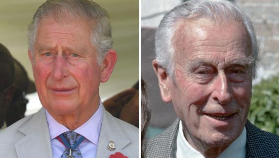 Walesin prinssi Charles ja Louis Mountbatten