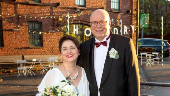 Eero Heinäluoma meni naimisiin.