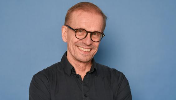 Jukka Puotila teki yhteistyötä Spede Pasasen kanssa.