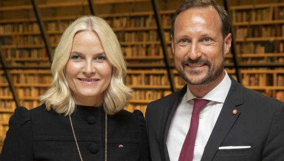 Norjan kruununprinssipari Haakon ja Mette-Marit
