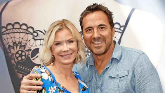 Katherine ja Thorsten mainostivat Kaunareita Monte Carlon festivaaleilla.