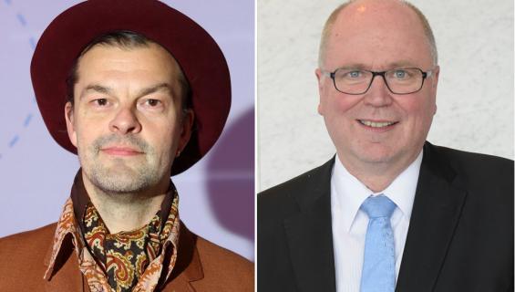 Tuura Kilpeläinen ja Eero Heinäluoma