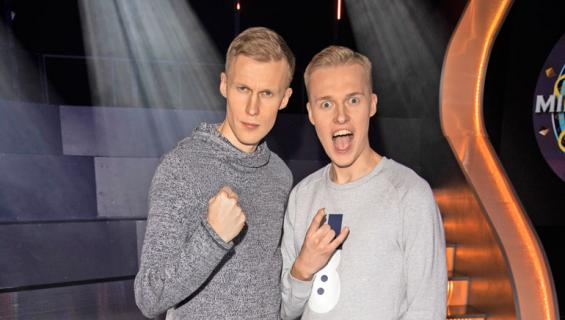 Roni ja Mike Bäck ovat tubettajia.