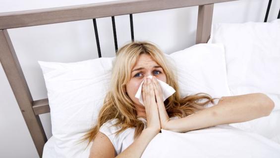 Flunssa on ikävä yllätys.