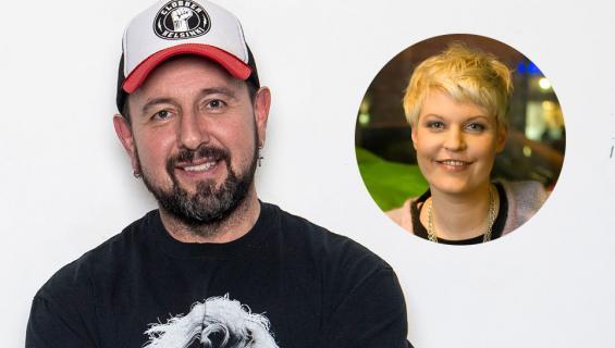 Esko Eerikäinen ja Sari Seppälä