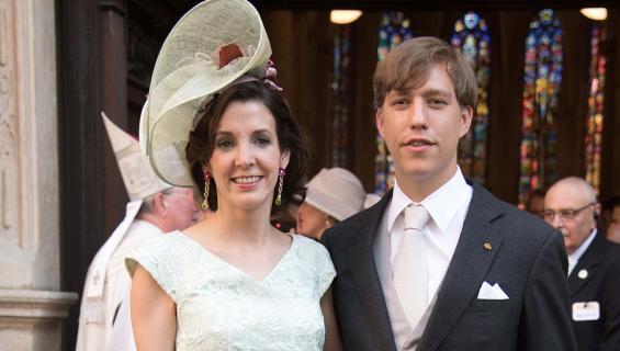 Luxemburgin prinssi Louis ja Tessy