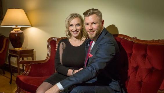 Jutta Gustafsberg ja Juha Rouvinen ostivat asunnon.