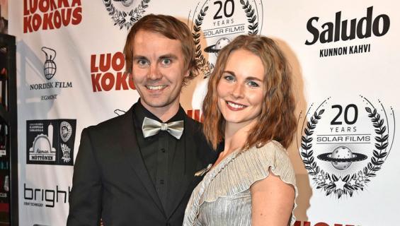 Anssi Koivuranta ja Sanni Leinonen avioituivat.