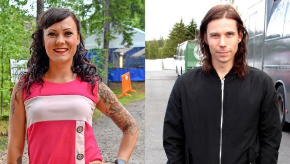 Mira Luoti ja Mika Haapasalo hankkivat tontin.