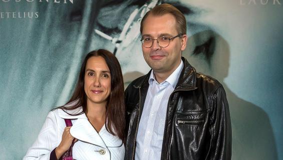 Jussi Niinistö ja Leena Sharma