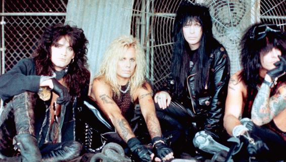 Mötley Crüe- yhtye näytti näin rajulta 1980-luvulla.