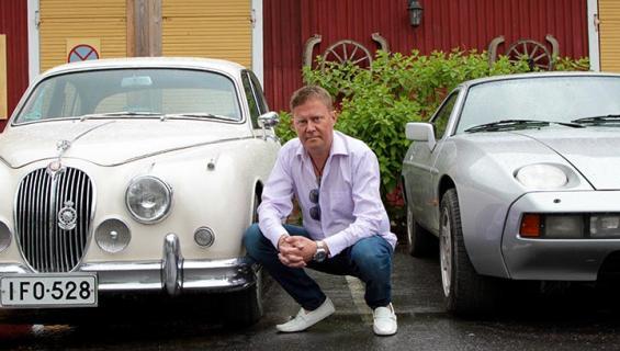 Pertti Salovaara on moottorimies.